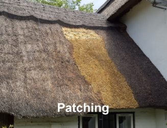 Patching Thatched Roof