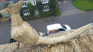 Straw Roof Animal Sculpture