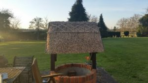 Thatched well cover Milton Keynes